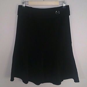 🌞Jaspe Midi Black Skirt Sz 7